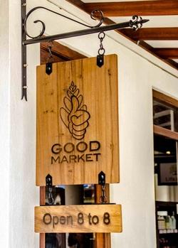 Good Market Shop Sign