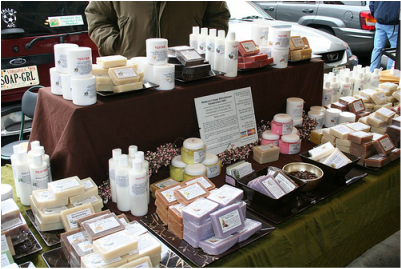Market Stall Display