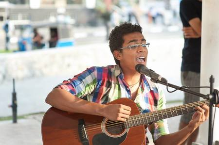 Performing at the Saturday Good Market